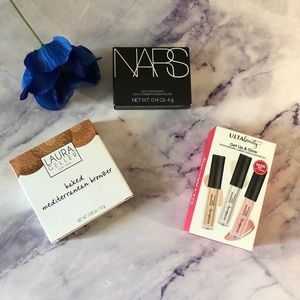 NARS+Laura Gellar+ULTABeauty makeup bundle
